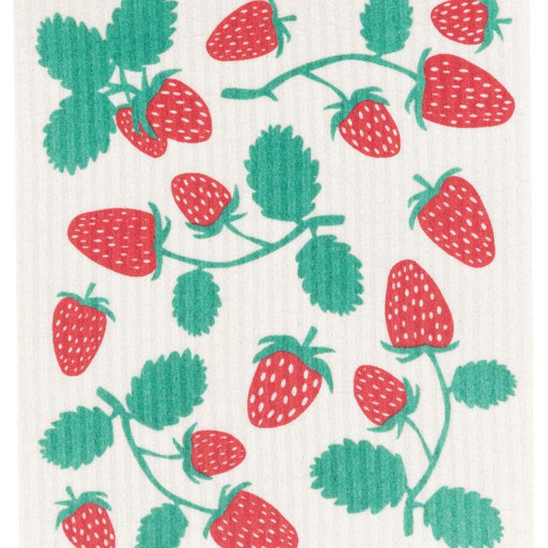 Danica/Now Designs Dishcloth Swedish Strawberries