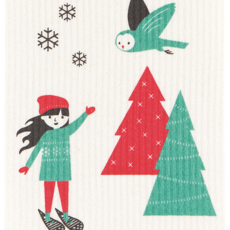 Danica/Now Designs Dishcloth Swedish Snow Much Fun