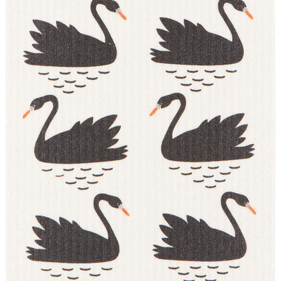 Danica/Now Designs Dishcloth Swedish Swan Lake