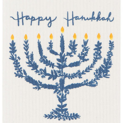 Danica/Now Designs Happy Hanukkah - Swedish Dishcloth
