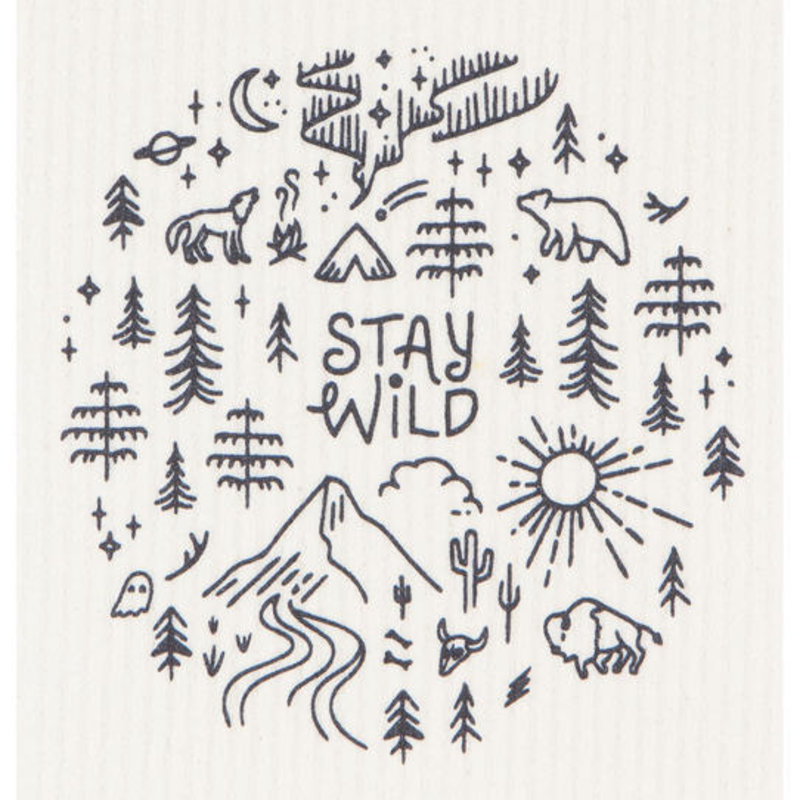 Danica/Now Designs Stay Wild - Swedish Dishcloth