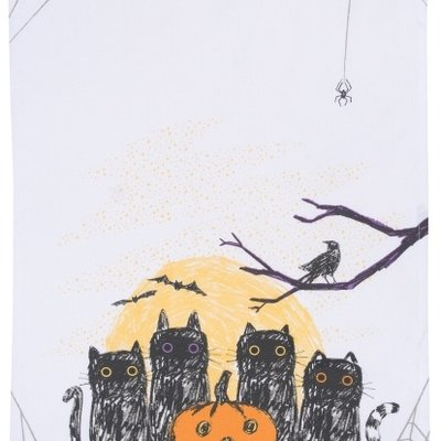 Danica/Now Designs Tea Towel - Dark Tails