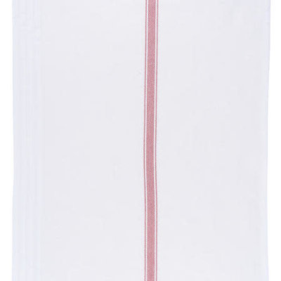 Danica/Now Designs Brooklyn Stripe Tea Towel - Poppy set of 4
