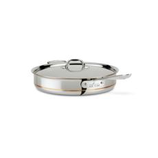 All-Clad All-Clad 6-Qt Copper Core Sauté Pan with Lid