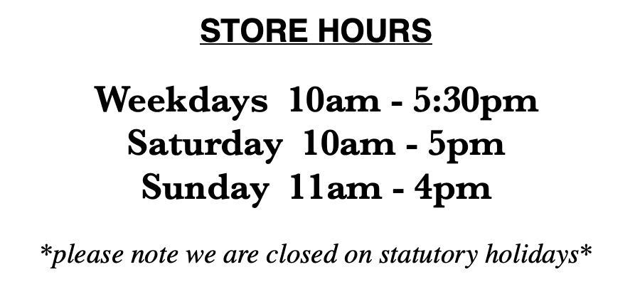Maison cookware store hours