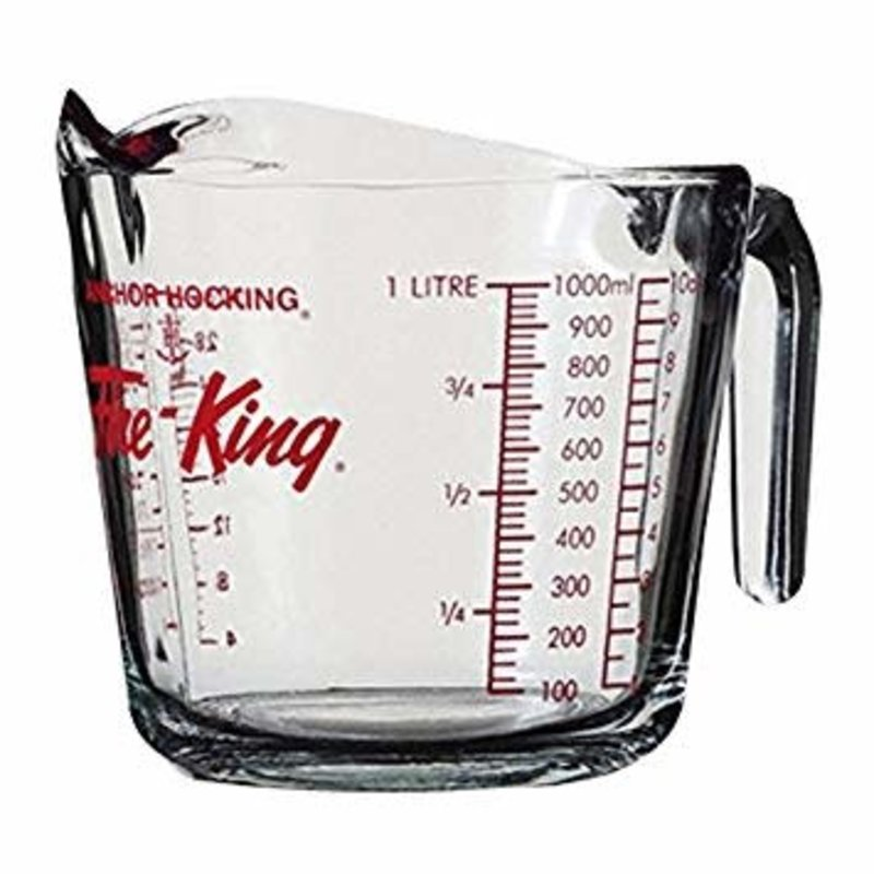 Anchor Hocking Fire King 4-Cup Measuring Cup