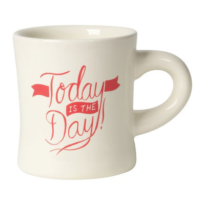 Danica/Now Designs Mug - Diner, Today Is The Day