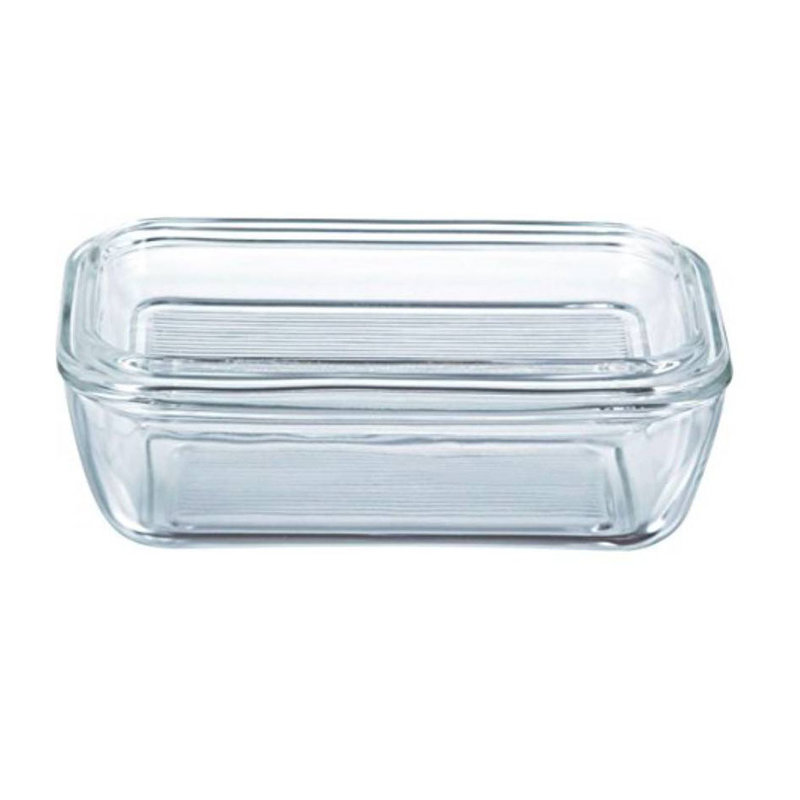 Luminarc Butter Dish With Lid - Glass