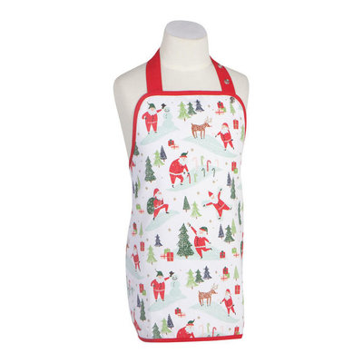 Danica/Now Designs Apron (Kids) Must Be Santa