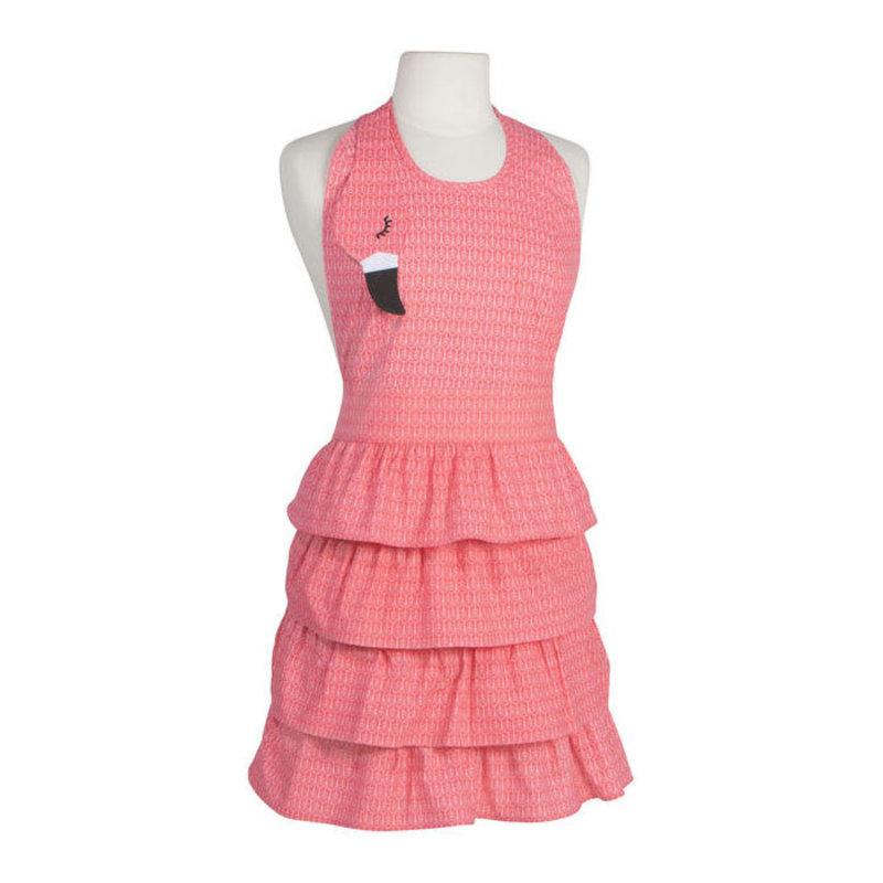 Danica/Now Designs Apron Daydream Flamingo