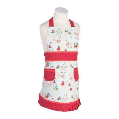 Danica/Now Designs Apron (Kids) Sally Fa La La La Llama
