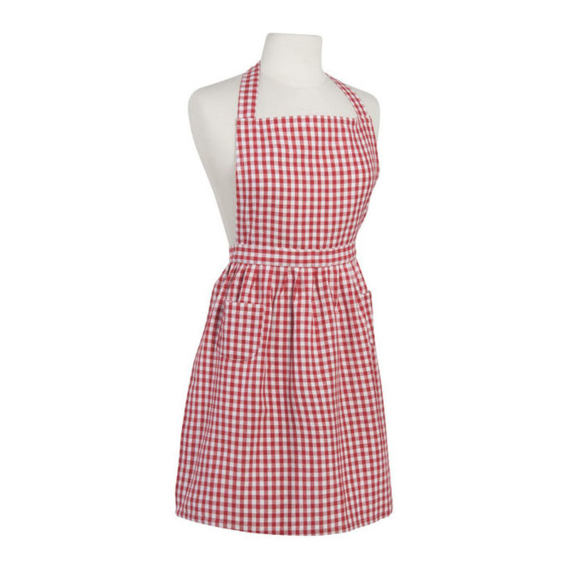Danica/Now Designs Apron Classic Gingham Red