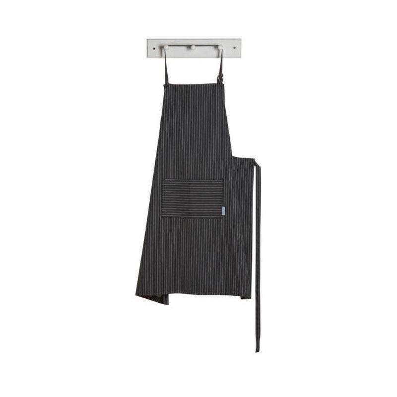 Danica/Now Designs Apron Mighty Pinstripe Black