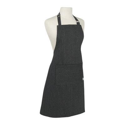 Danica/Now Designs Apron Chef Pinstripe Black