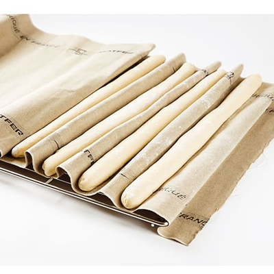 Matfer Bourgeat Linen Couche Fabric - 1m couche