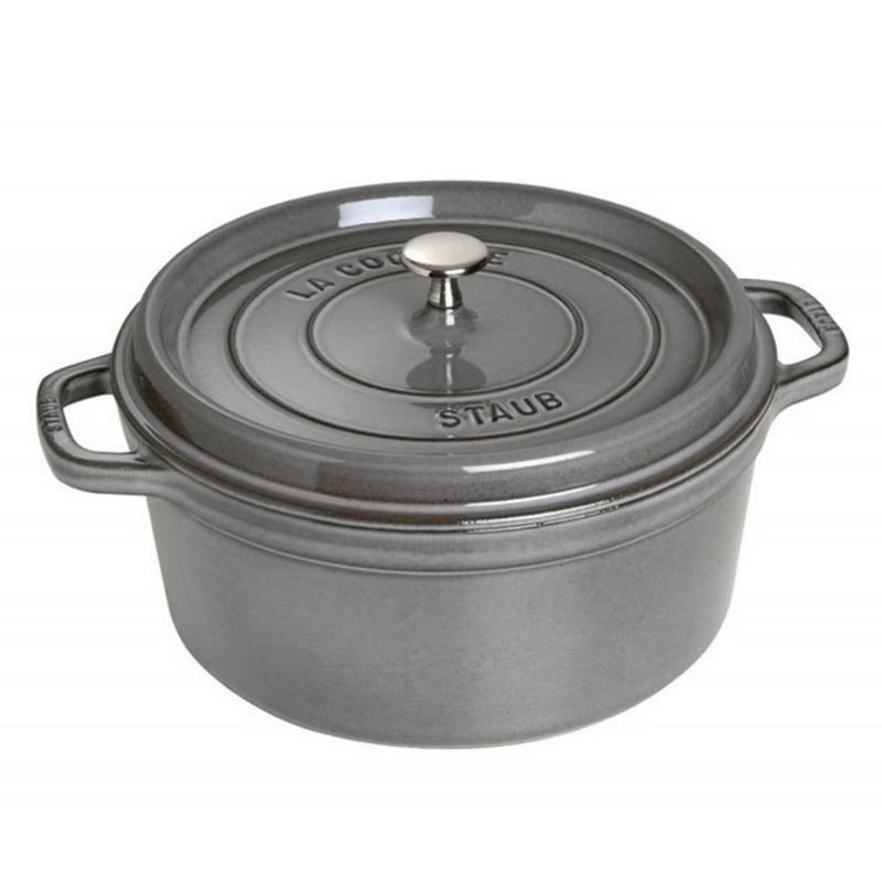 Staub Staub Round 6.7L / 7-Qt Grey Cocotte