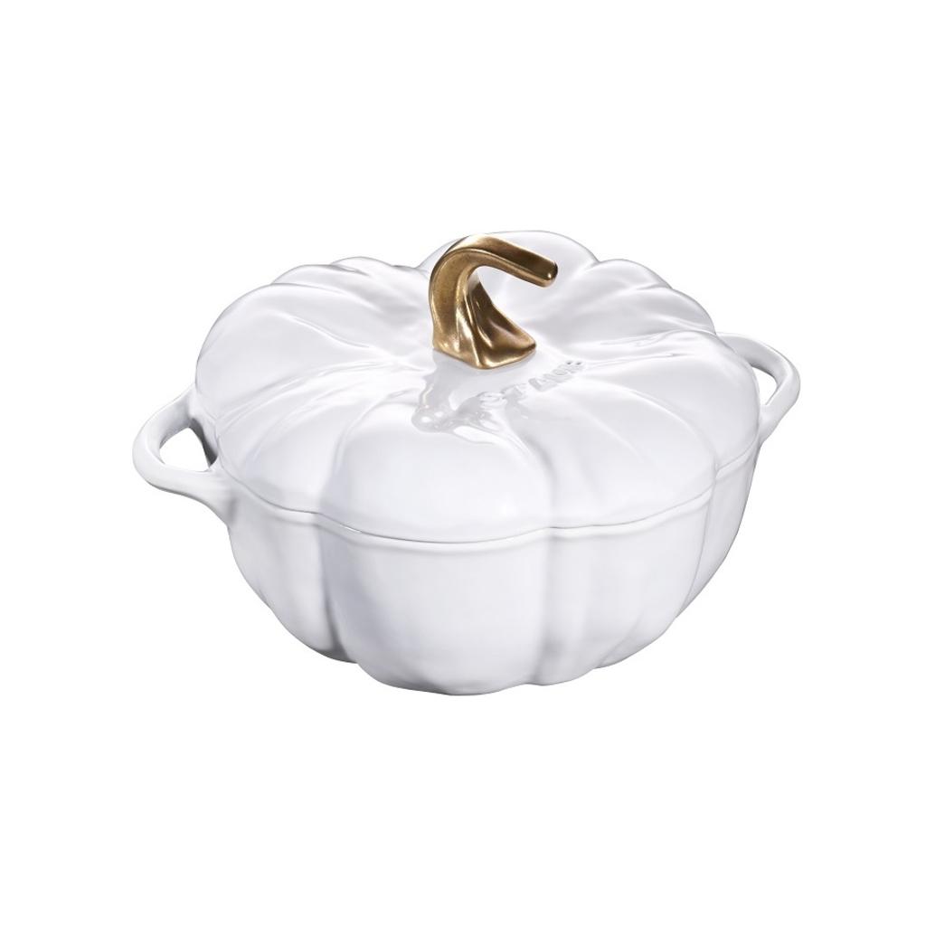 Staub Staub Pumpkin 3.45L / 3.5-Qt White Cocotte