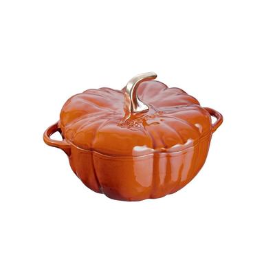 Staub Staub Pumpkin 3.45L / 3.5-Qt Cinnamon Cocotte