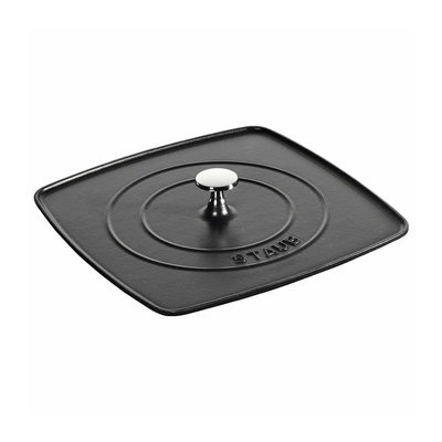 "Staub Staub Panini Press for 12"" Grill Pan"