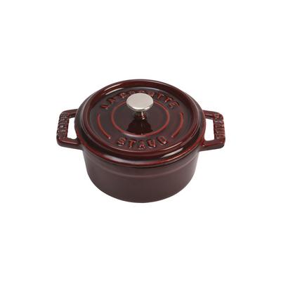 Staub Staub Mini Round 0.23L / 0.25-Qt Grenadine Cocotte
