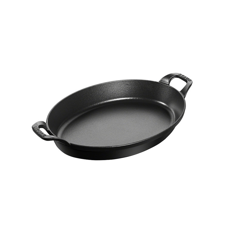 "Staub Staub Oval 24cm / 9.5"",  1-Qt Stack Dish"
