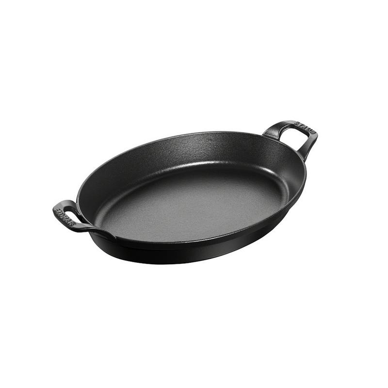 "Staub Staub Oval 37cm / 14.5"", 4-Qt Stack Dish"