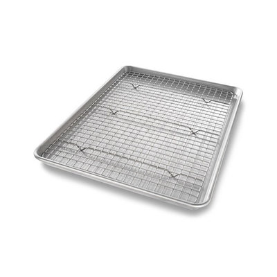 USA Pan Half Sheet Baking Rack Set