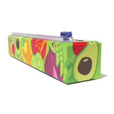 ChicWrap ChicWrap Plastic Wrap Dispenser - Veggies