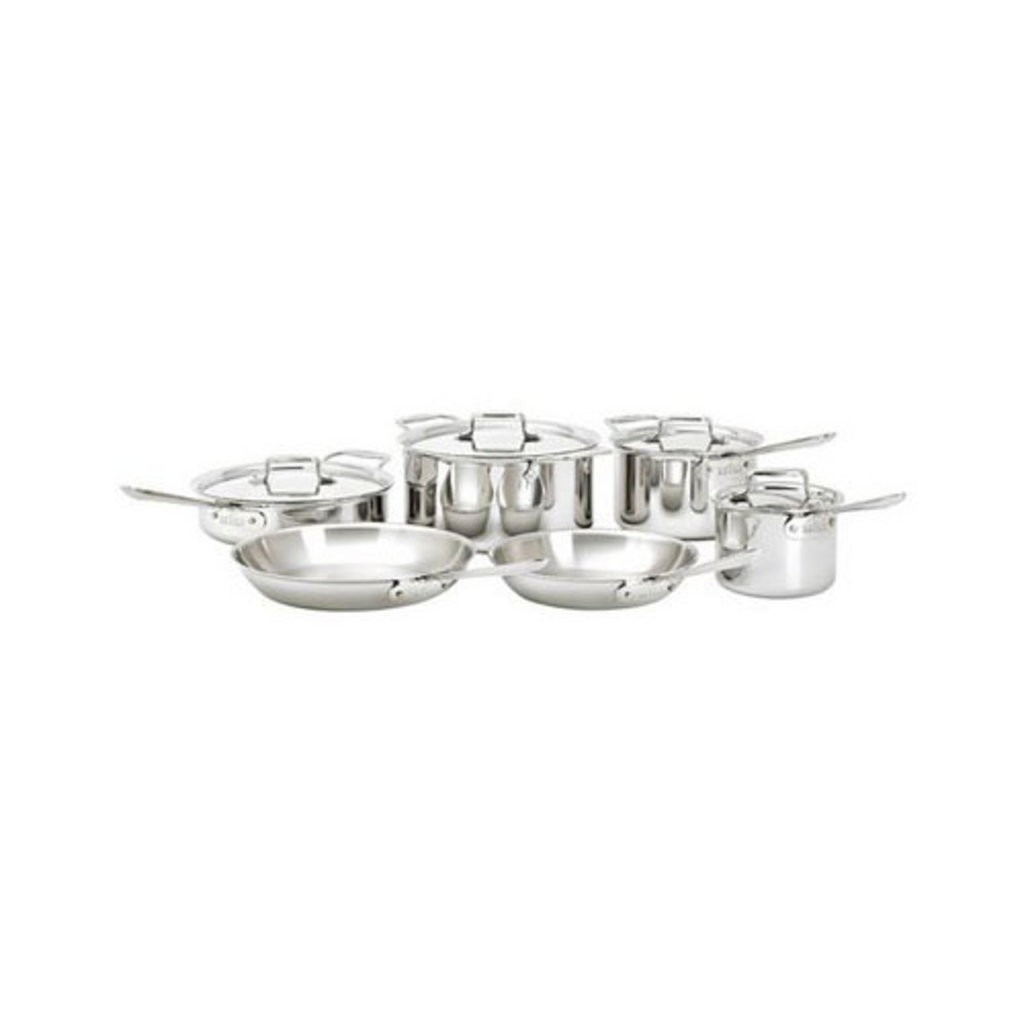 All-Clad All-Clad 10pc Polished d5 Set
