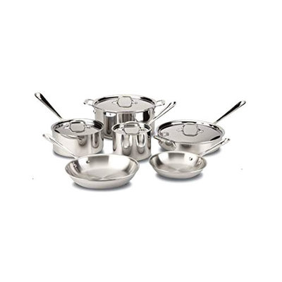 All-Clad All-Clad 10 Piece Stainless Set