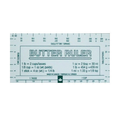 Burton Cooking Tools Butter Ruler