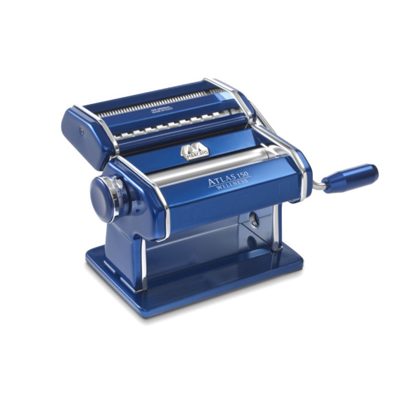 Atlas Marcato Marcato Blue Atlas 150 Pasta Machine