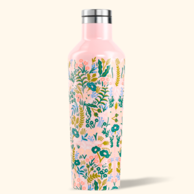 Corkcicle Corkcicle Canteen - 16oz Pink Tapestry Rifle Paper 475ml