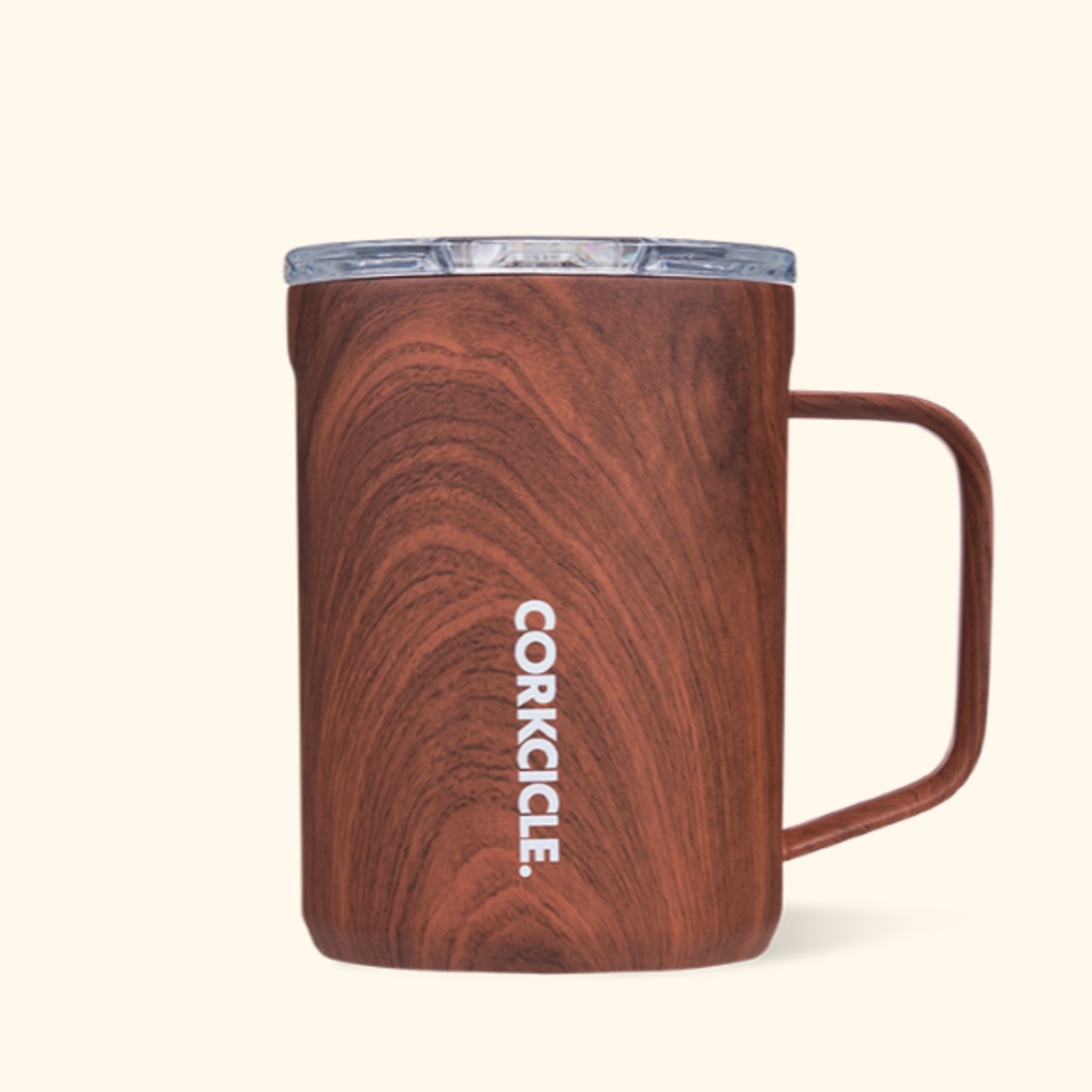 Corkcicle Mug - 16oz Walnut 475ml