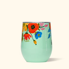 Corkcicle Corkcicle Rifle Stemless - 12oz Lively Floral Mint 355ml