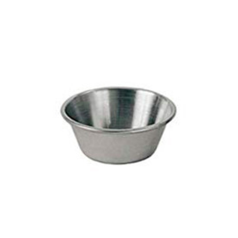 Browne & Co Cocktail Sauce Cup 1.5oz Stainless Steel