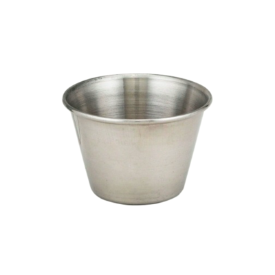 Browne & Co Cocktail Sauce Cup 2.5oz Stainless Steel