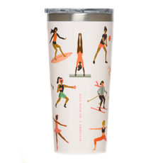 Corkcicle Tumbler- 16oz Sports Girls Rifle Paper 475ml