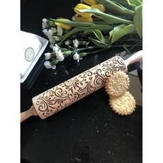 GoodyWoody Embossed Rolling Pin - Spring