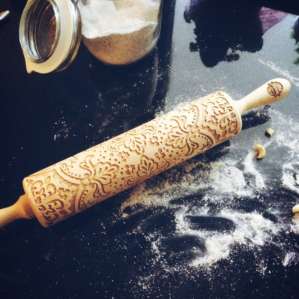 GoodyWoody Embossed Rolling Pin - Majestic