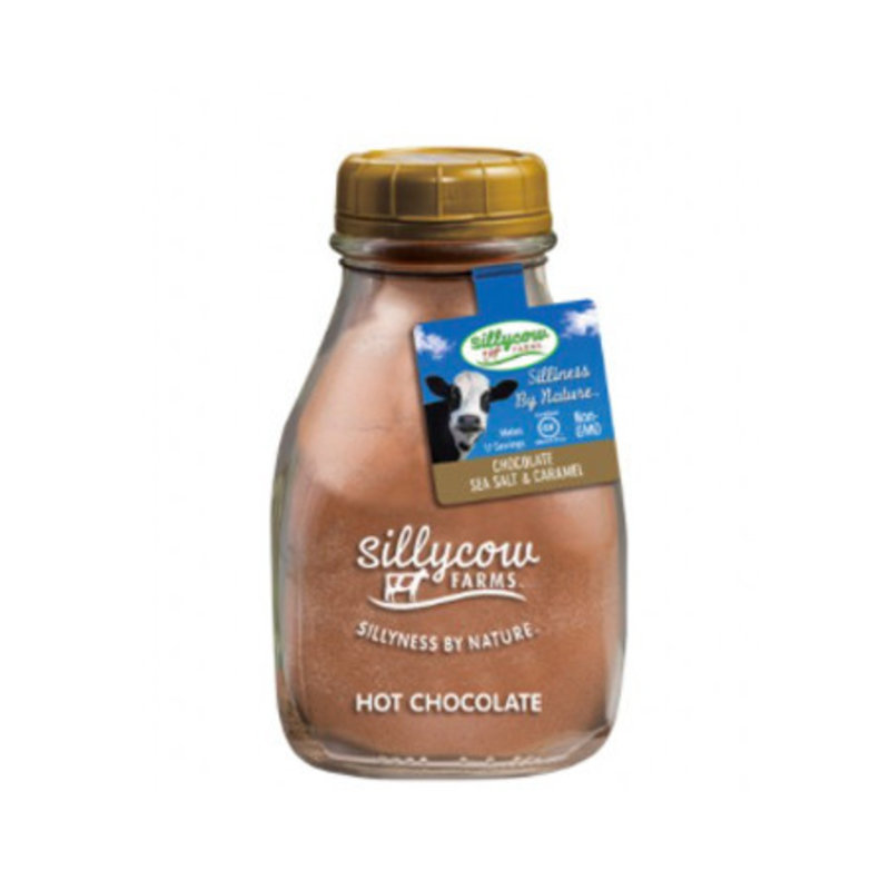 SillyCow Silly Cow Sea Salt Caramel Hot Chocolate