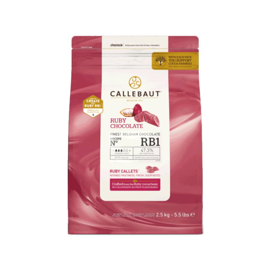 Callebaut Callebaut Ruby RB1 Couveture 2.5kg