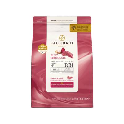 Callebaut Callebaut Ruby Couveture 2.5kg