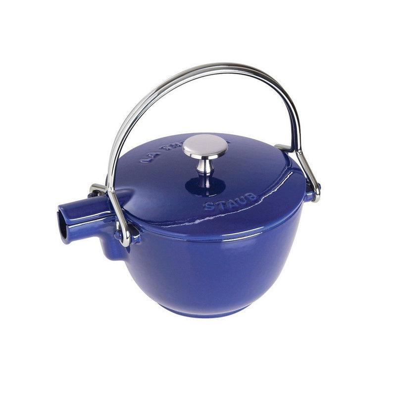 Staub Staub 1.1L / 1.16-Qt Dark Blue Teapot