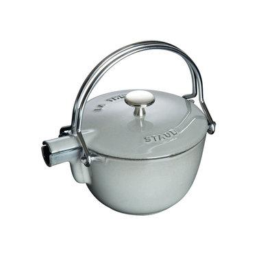 Staub Staub 1.1L / 1.16-Qt Grey Teapot