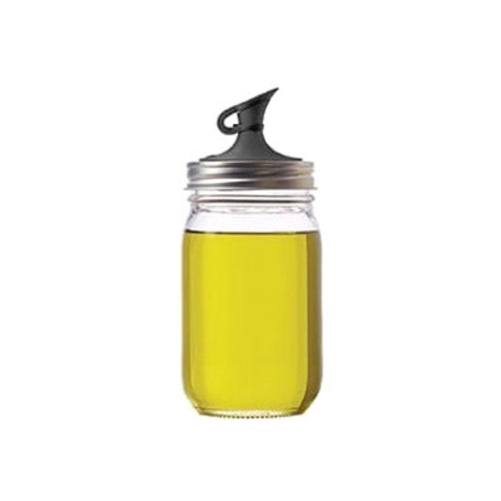 Jarware Jarware Regular Mouth - Oil Cruet Black