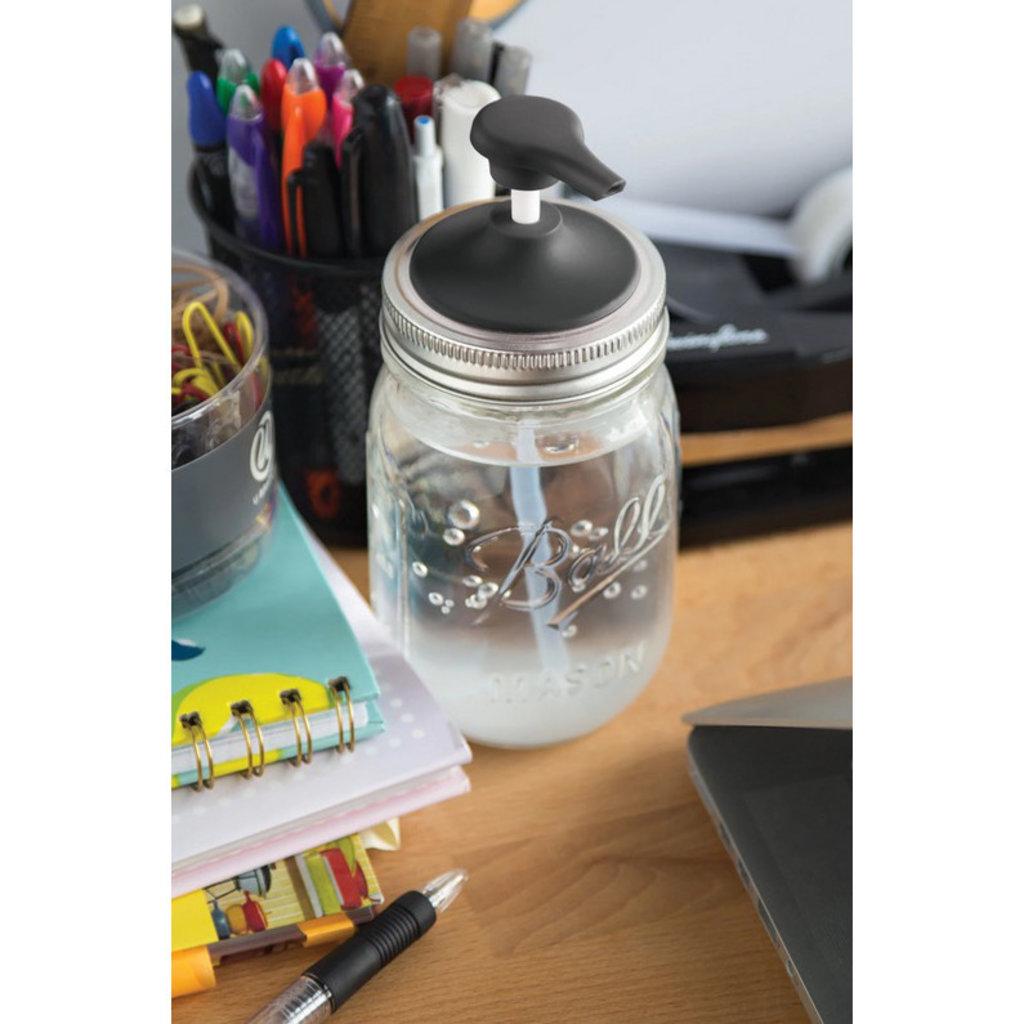 Jarware Jarware Regular Mouth - Soap Pump Black