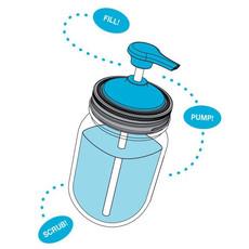 Jarware Jarware Regular Mouth - Soap Pump White