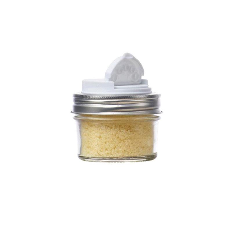 Jarware Jarware Regular Mouth - Spice Jar Lid 12-Pack White