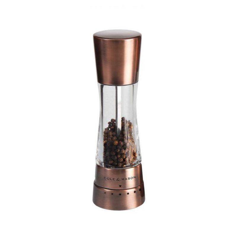 """Cole & Mason Derwent Pepper Mill Copper 7.5"""""""